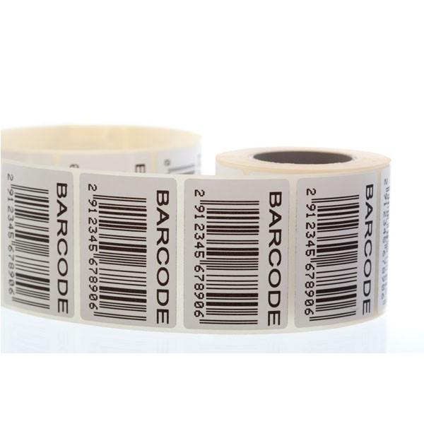 Etiquetas com código de barras