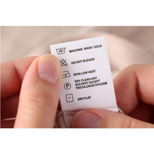 Etiquetas de composição para roupas