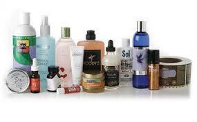 Rótulos adesivos para cosméticos