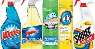 Rótulos personalizados para produtos de limpeza