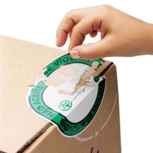 Etiquetas adesivas de segurança