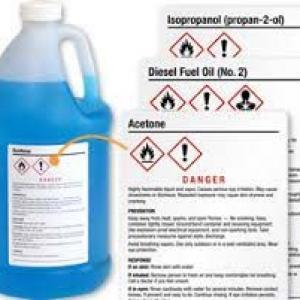 Rótulos para indústria químicas